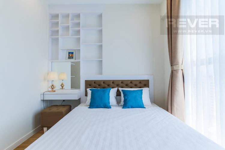 Phòng Ngủ 2 Cho thuê căn hộ Masteri Millennium tầng trung, 2PN, nội thất đầy đủ