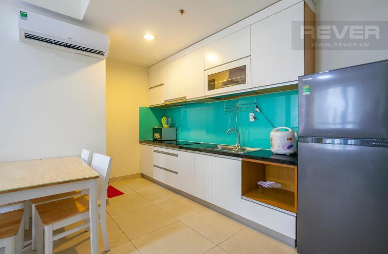 Nhà Bếp Căn hộ Masteri Thảo Điền tầng cao 2 phòng ngủ đầy đủ tiện nghi