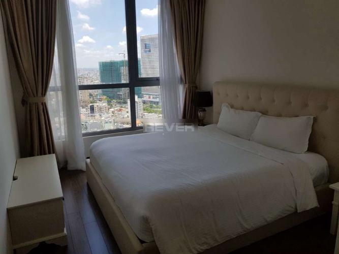 Phòng ngủ Vinhomes Central Park Căn hộ Vinhomes Central Park tầng cao, đầy đủ nội thất, view nội khu.