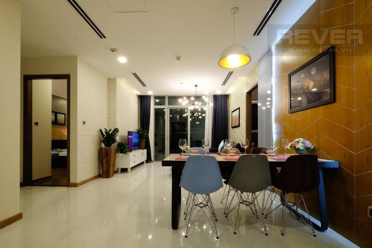 Phòng Khách Bán căn hộ Vinhomes Central Park 3PN, tháp Park 1, diện tích 116m2, đầy đủ nội thất