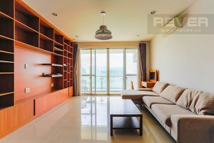 Phòng Khách Căn hộ Riverpark Residence 3 phòng ngủ tầng thấp view sông