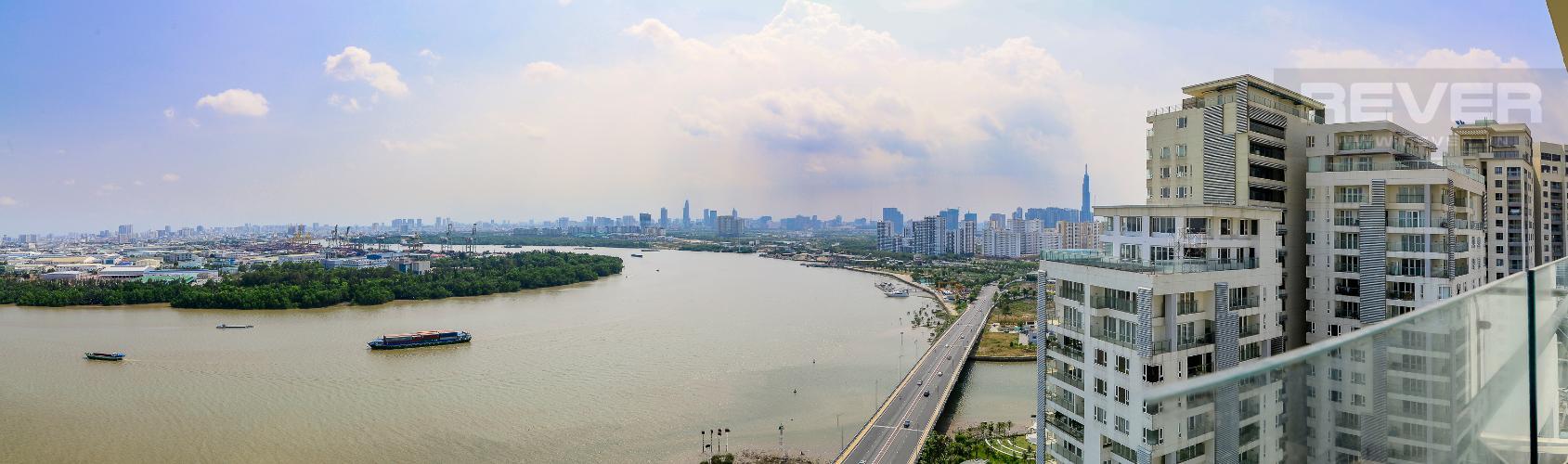 View Cho thuê căn hộ Diamond Island - Đảo Kim Cương 3PN, tầng cao, đầy đủ nội thất, view sông yên tĩnh