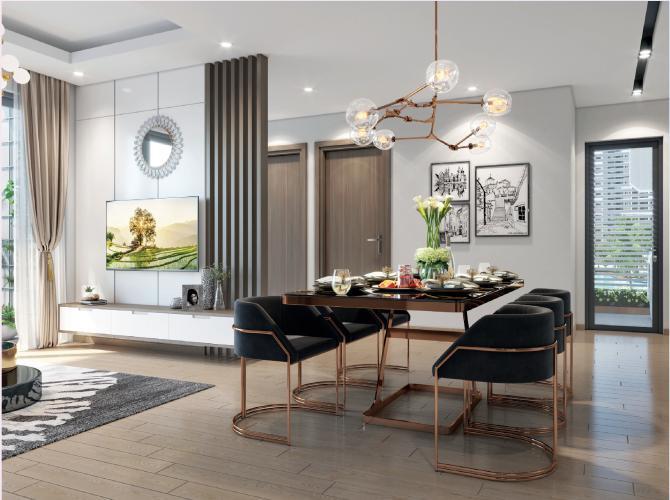 Nhà mẫu căn hộ Vinhomes Grand Park Căn hộ Vinhomes Grand Park thiết kế sang trọng 3 phòng ngủ.