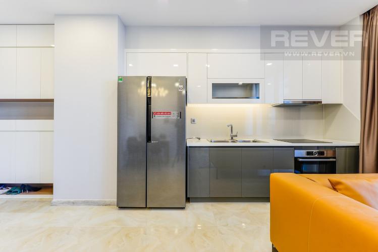 Bếp Cho thuê căn hộ Vinhomes Golden River tầng trung 2PN đầy đủ nội thất