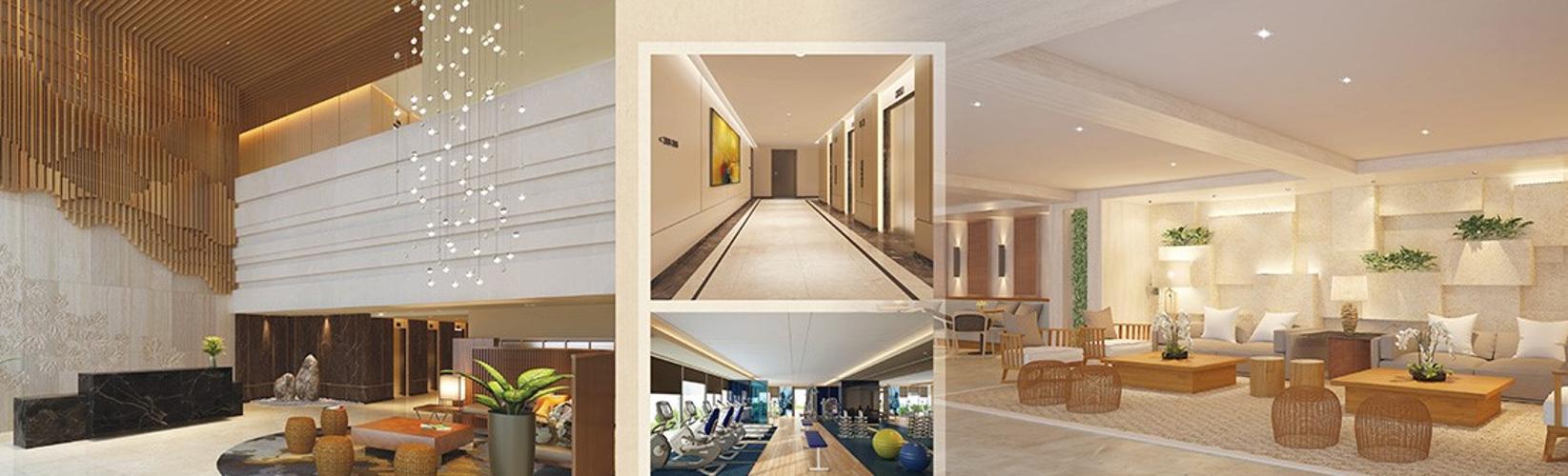 Tiện ích Happy Residence Căn hộ Happy Residence hướng Tây Bắc, nội thất cao cấp.