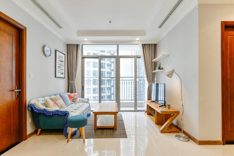 Căn hộ Vinhomes Central Park 2 phòng ngủ, tầng thấp C2, nội thất đầy đủ