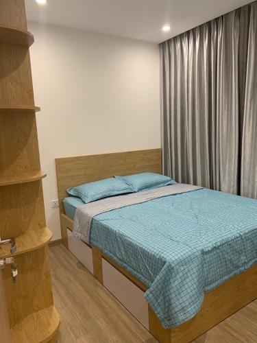 Phòng ngủ Vinhomes Grand Park Quận 9 Căn hộ Vinhomes Grand Park nội thất đầy đủ, hướng nội khu.
