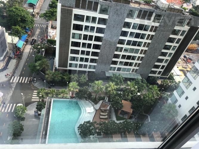 View Bán căn hộ Gateway Thảo Điền 4PN, tầng trung, đầy đủ nội thất, view Xa lộ Hà Nội và Landmark 81