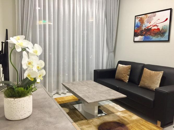 Cho thuê Masteri An Phú 2 phòng ngủ, tầng cao, tháp A, đầy đủ nội thất, diện tích 70m2