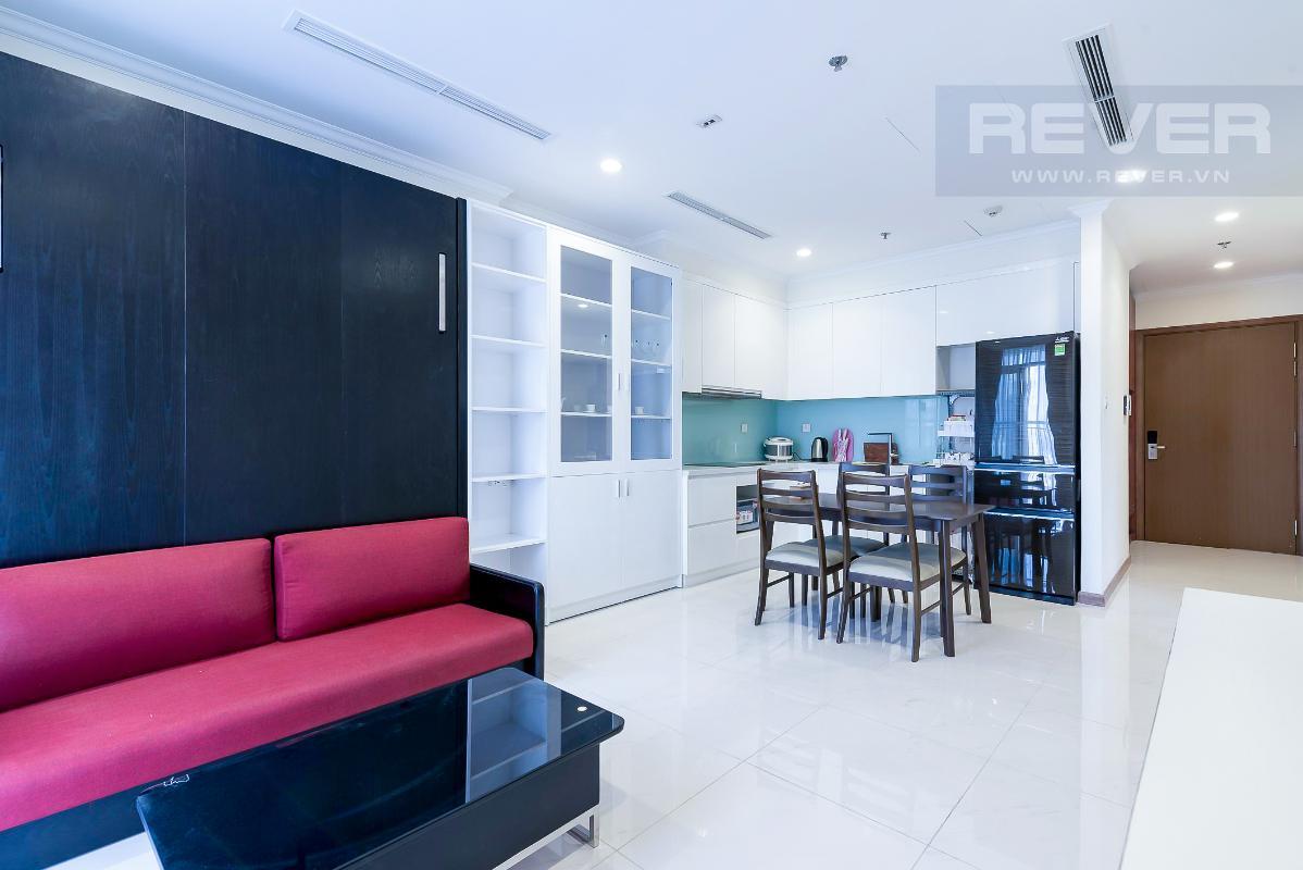 can-ho-vinhomes-central-park Cho thuê căn hộ Vinhomes Central Park 1PN, đầy đủ nội thất, hướng ban công Đông Nam, view thành phố