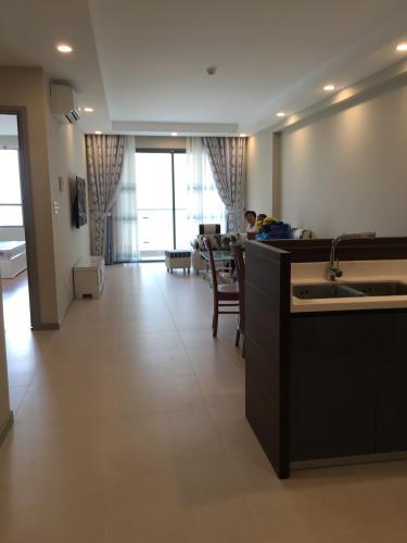 Không gian bên trong căn hộ The Gold View Căn hộ The Gold View đầy đủ nội thất, view sông mát mẻ trong lành.