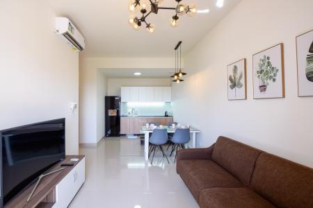 Bán căn hộ The Sun Avenue 2 phòng ngủ, nội thất cơ bản, view sông
