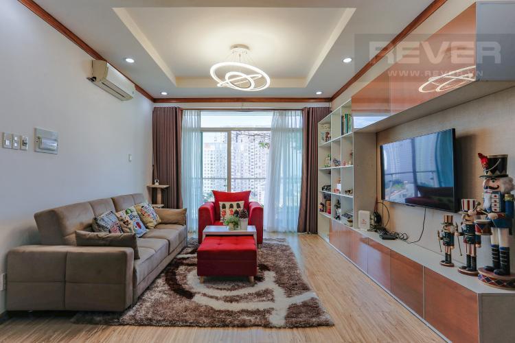 Phòng Khách Căn hộ New Sài Gòn, tầng trung, tòa C, 2 phòng ngủ, full nội thất.