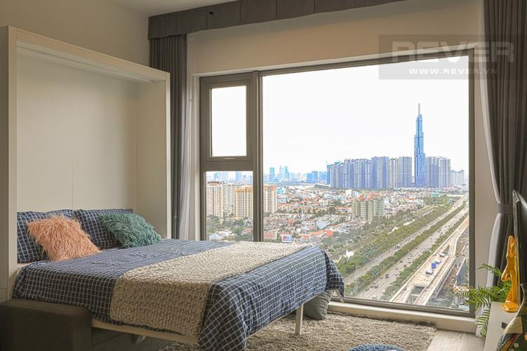 Phòng Ngủ Bán hoặc cho thuê căn hộ Gateway Thảo Điền 1PN, đầy đủ nội thất, view Landmark 81