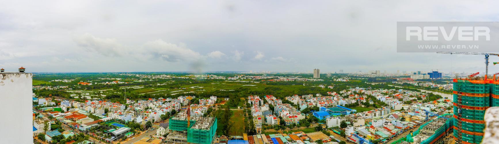 View Căn hộ Duplex New Sài Gòn tầng cao tháp D1, 4 phòng ngủ, full nội thất