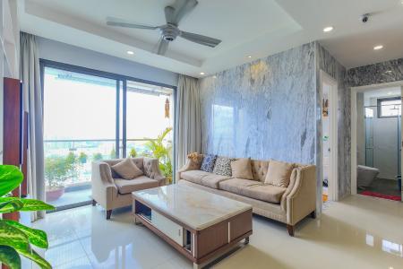 Bán căn hộ The Gold View tầng cao, 3PN, đầy đủ nội thất, view đẹp