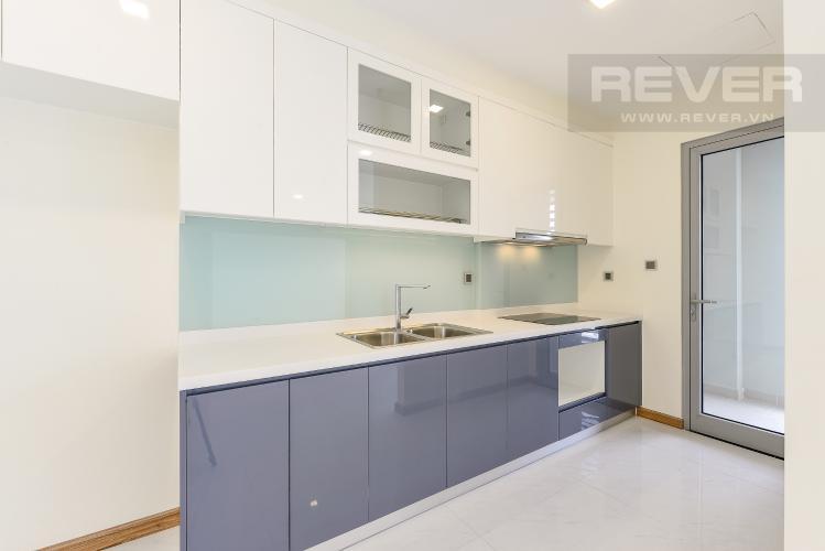 Bếp Căn hộ Vinhomes Central Park 3 phòng ngủ tầng cao P5 view sông