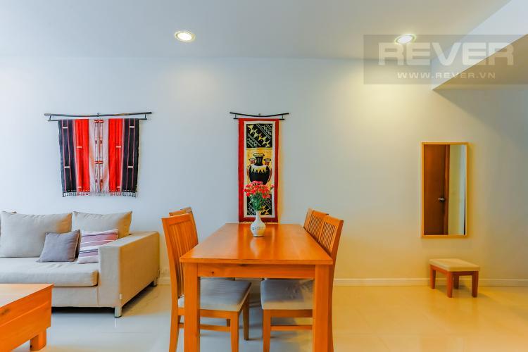 Phòng Ăn Căn hộ Sunrise City tầng trung V2 thiết kế 2 phòng ngủ hiện đại