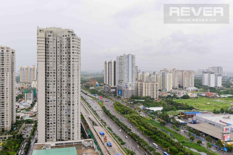 View Cho thuê căn hộ Masteri Thảo Điền 2PN, tháp T1, đầy đủ nội thất, view Xa lộ Hà Nội