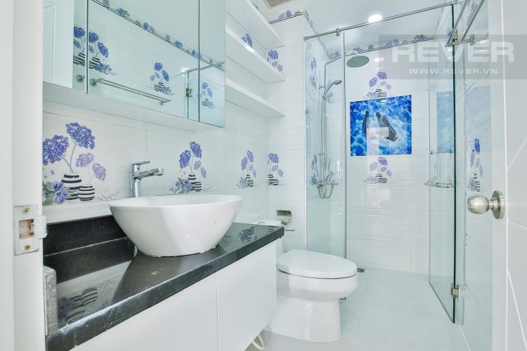 Toilet Căn hộ The Gold View 2 phòng ngủ tầng cao A2 đầy đủ nội thất