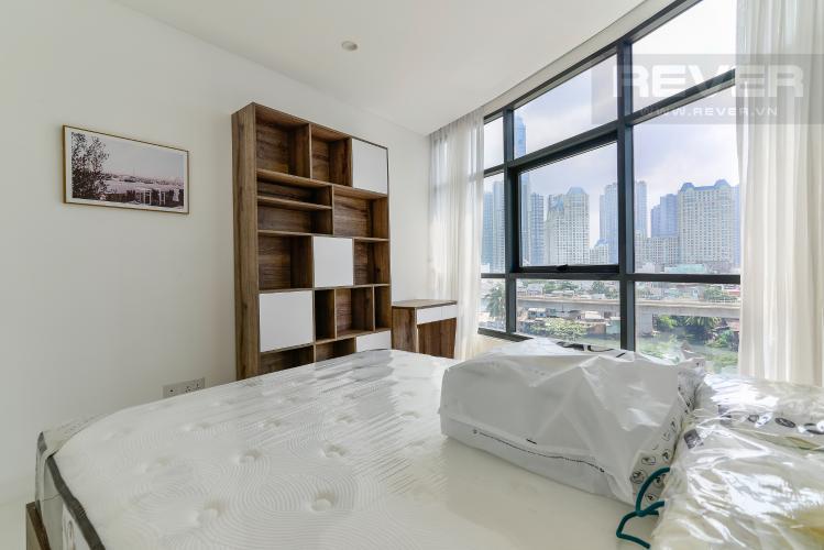 Phòng Ngủ 2 Cho thuê căn hộ City Garden view thành phố, 104m2 2PN 2WC, nội thất tiện nghi
