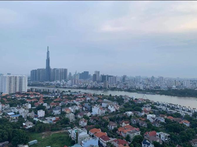 view cảnh Bán căn hộ Tropic Garden tầng trung, diện tích 200m2