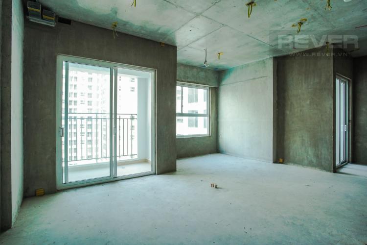 Phòng Khách Bán căn hộ Sunrise Riverside 2, tầng thấp, hướng Đông, bàn giao thô, view hồ bơi