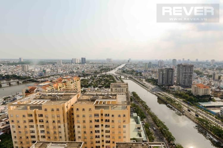 View Bán căn hộ The Gold View tầng cao 2PN, đầy đủ nội thất, view sông thoáng đãng