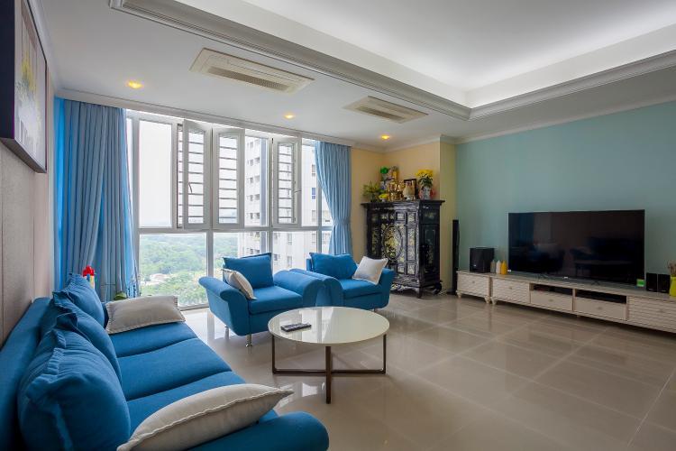 Phòng Khách Căn hộ Imperia An Phú 3 phòng ngủ tầng trung block B full nội thất
