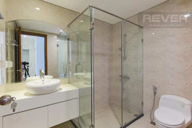Phòng Tắm 1 Căn góc Vinhomes Central Park tầng cao Landmark 3 nội thất cơ bản