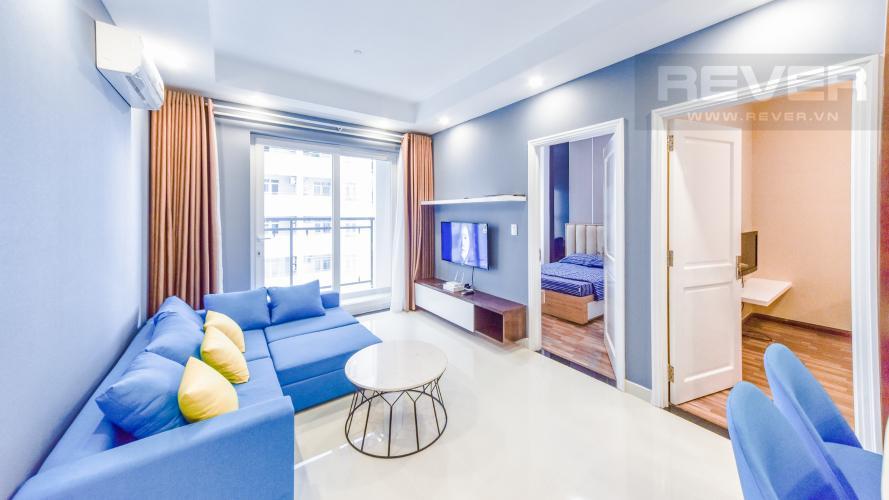 Phòng Khách Cho thuê căn hộ Florita 3 phòng ngủ, đầy đủ nội thất