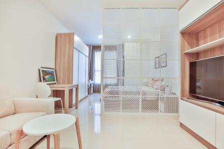 Officetel The Tresor 1 phòng ngủ tầng thấp TS1 hướng Đông Nam