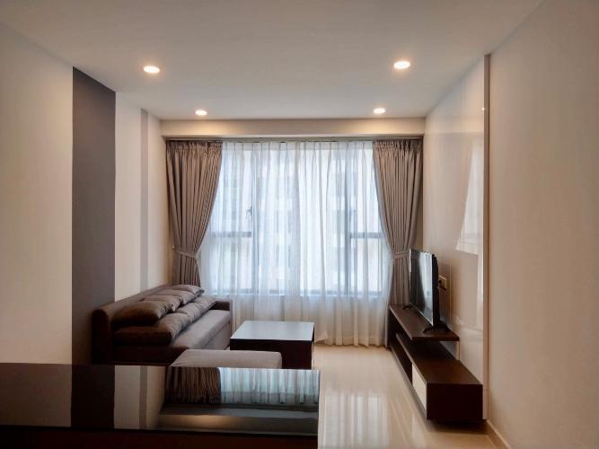 Căn hộ tầng cao The Tresor ban công thoáng mát, 2 phòng ngủ.
