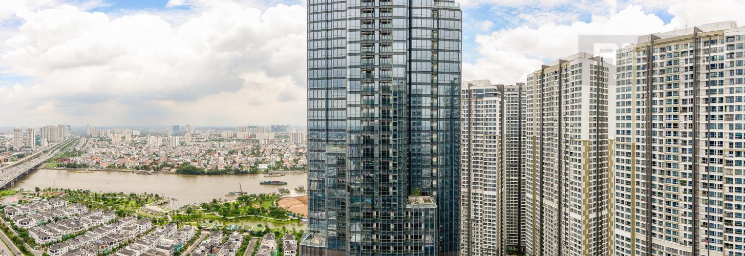 View Bán căn hộ Vinhomes Central Park tầng cao, 4PN, đầy đủ nội thất, view đẹp