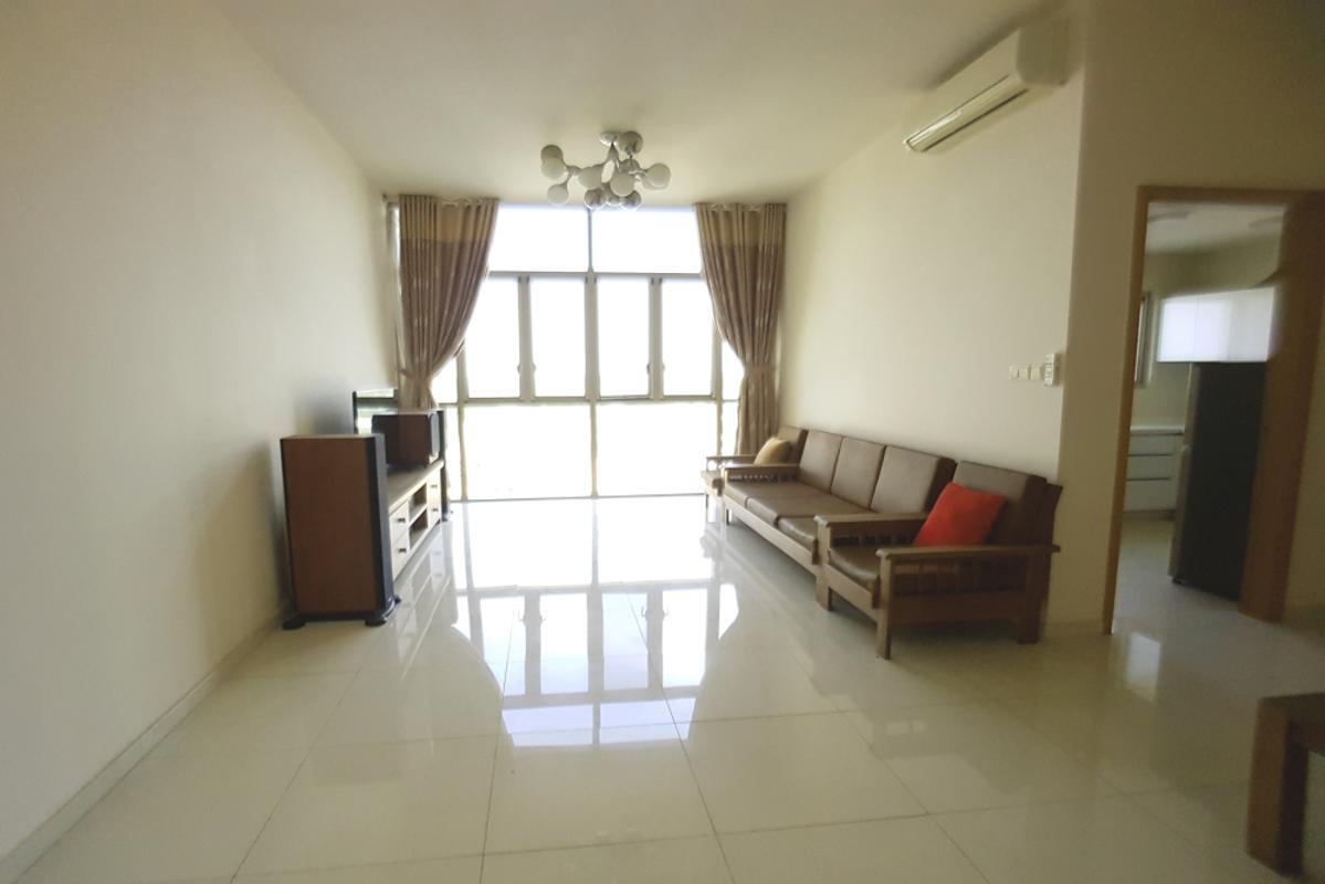 Living room Bán hoặc cho thuê căn hộ The Vista An Phú 2PN, tháp T4, đầy đủ nội thất, view sông thoáng mát