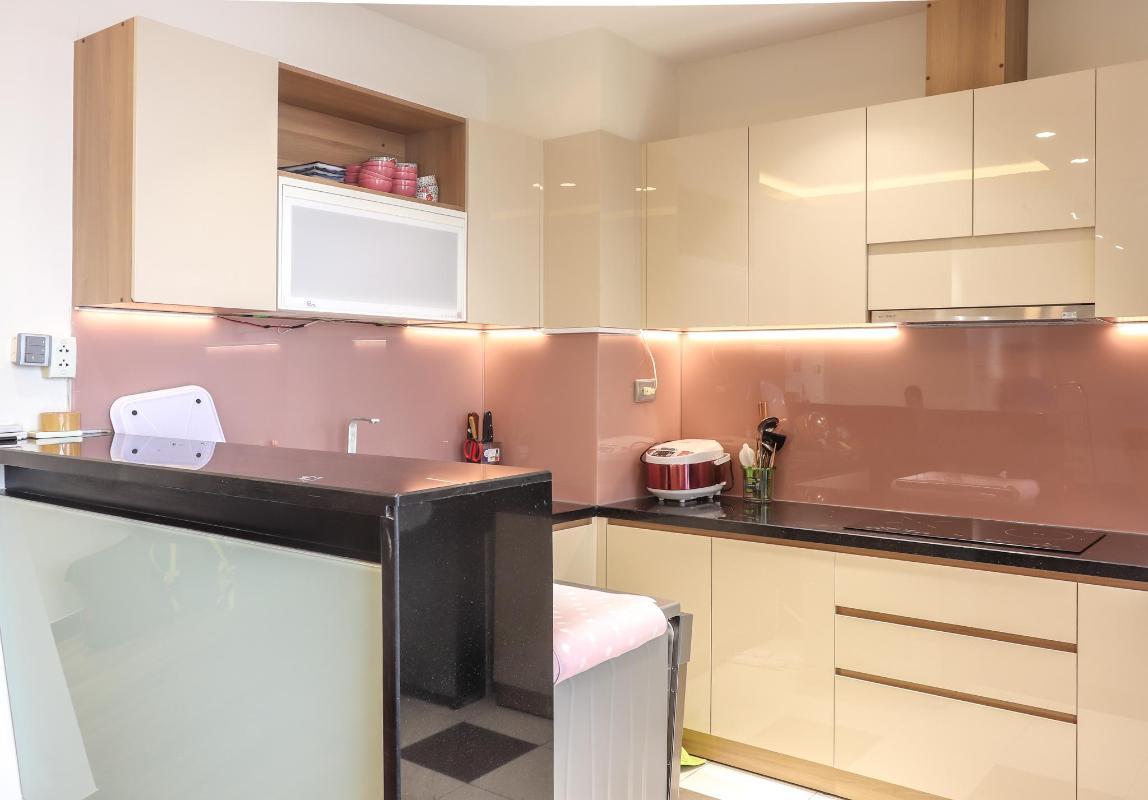 Phòng Bếp Bán căn hộ chung cư Phú Mỹ 3 phòng ngủ, block 2, diện tích 117m2, đầy đủ nội thất, view thoáng