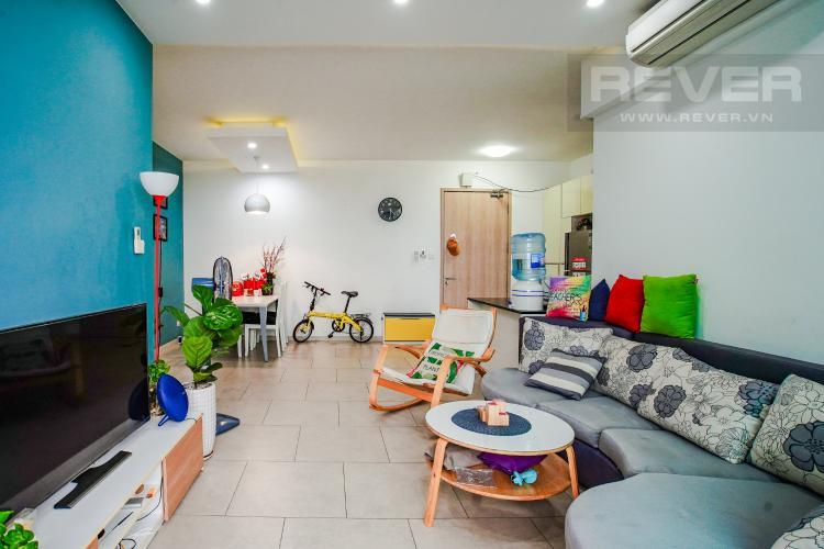 Phòng Khách Cho thuê căn hộ Riviera Point 2PN, tầng trung, tháp T4, đầy đủ nội thất, view sông mát mẻ
