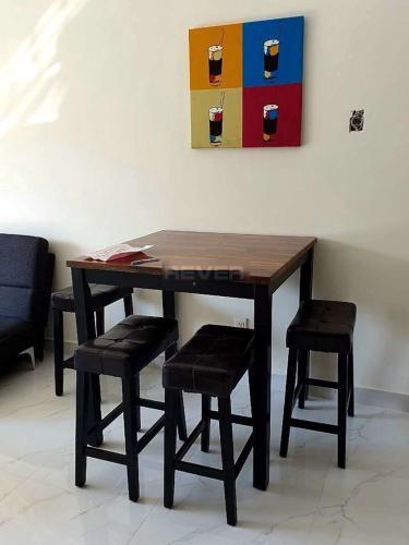 Phòng khách căn hộ Sunrise Riverside Căn hộ chung cư Sunrise Riverside nội thất đầy đủ tiện nghi, cao cấp.