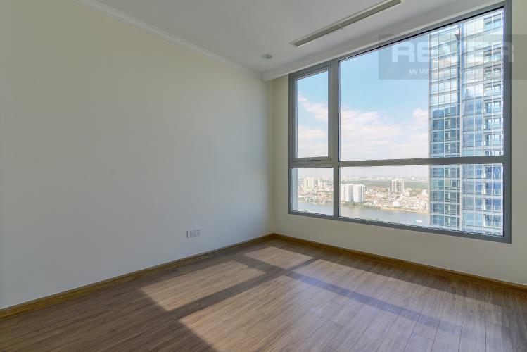 Phòng Ngủ 2 Cho thuê căn hộ Vinhomes Central Park 3PN và 2WC, nội thất cơ bản, view nội khu