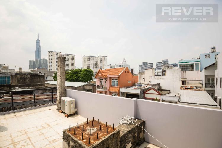 Sân Thượng Trước Bán nhà phố 2 tầng, 3PN tại Bình Thạnh, diện tích 158m2, sổ hồng chính chủ