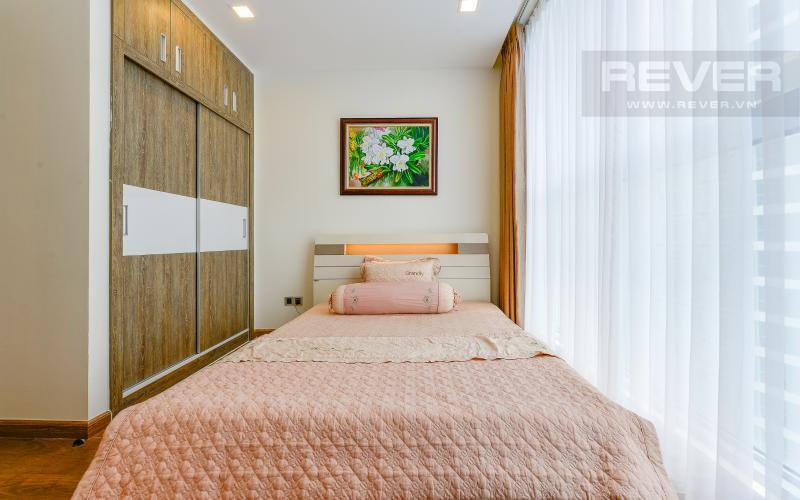 phòng ngủ 1 Căn hộ Vinhomes Central Park tầng trung Park 1 thiết kế hiện đại