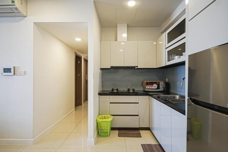 Phòng bếp căn hộ Icon 56 Căn hộ Icon 56 nội thất đầy đủ 3 phòng ngủ, view thành phố.