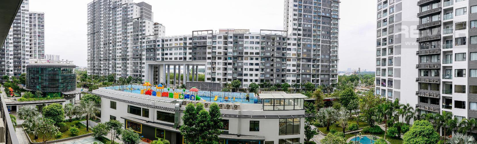 View Cho thuê căn hộ New City 60m2 3PN 2WC, view nội khu, nội thất tiện nghi