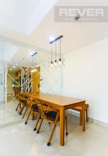 Bàn Ăn Căn hộ Masteri Thảo Điền tầng trung, tháp T3, 2PN đầy đủ nội thất