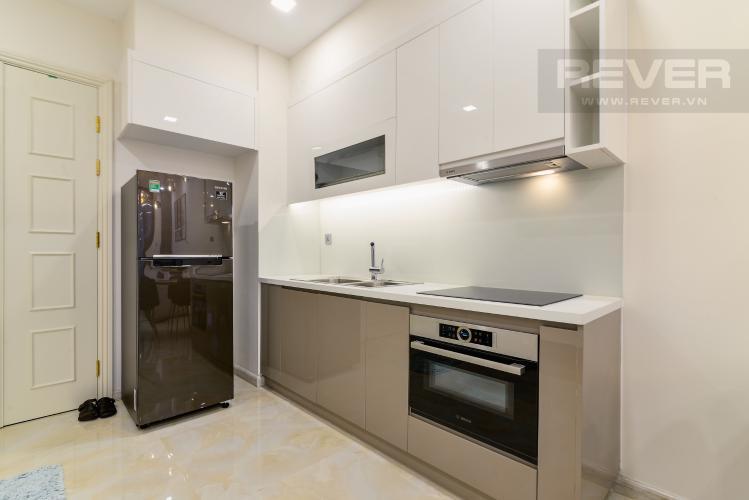 Nhà Bếp Cho thuê căn hộ Vinhomes Golden River 1PN, tầng cao tháp The Aqua 1, đầy đủ nội thất, view sông tuyệt đẹp