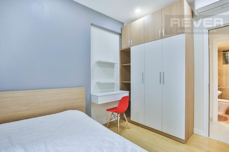 Phòng Ngủ 1 Căn góc Masteri Thảo Điền 2 phòng ngủ tầng trung tòa T2