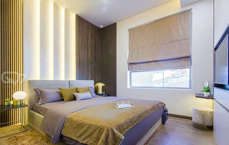Căn hộ mẫu Boulevard 2 Bán căn hộ Q7 Boulevard 2 phòng ngủ tầng cao diện tích 69m2, căn hộ chưa bàn giao