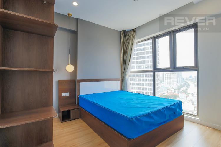Phòng Ngủ 2 Bán căn hộ Masteri Millennium tầng cao, block B, 3PN đầy đủ nội thất