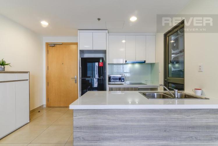 Phòng bếp Căn hộ Masteri Thảo Điền 2 phòng ngủ tầng cao T3 view sông