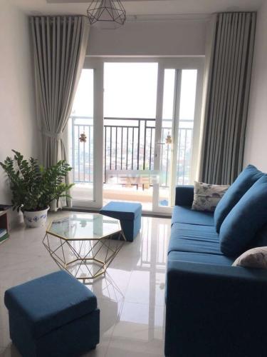 Phòng khách căn hộ Richmond City, Bình Thạnh Căn hộ tầng cao Richmond City đầy đủ nội thất, view thành phố mát mẻ.
